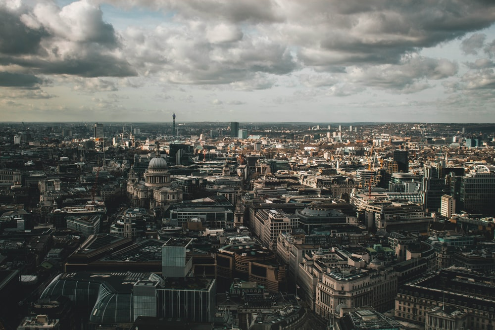 aerial photography of skyscraper