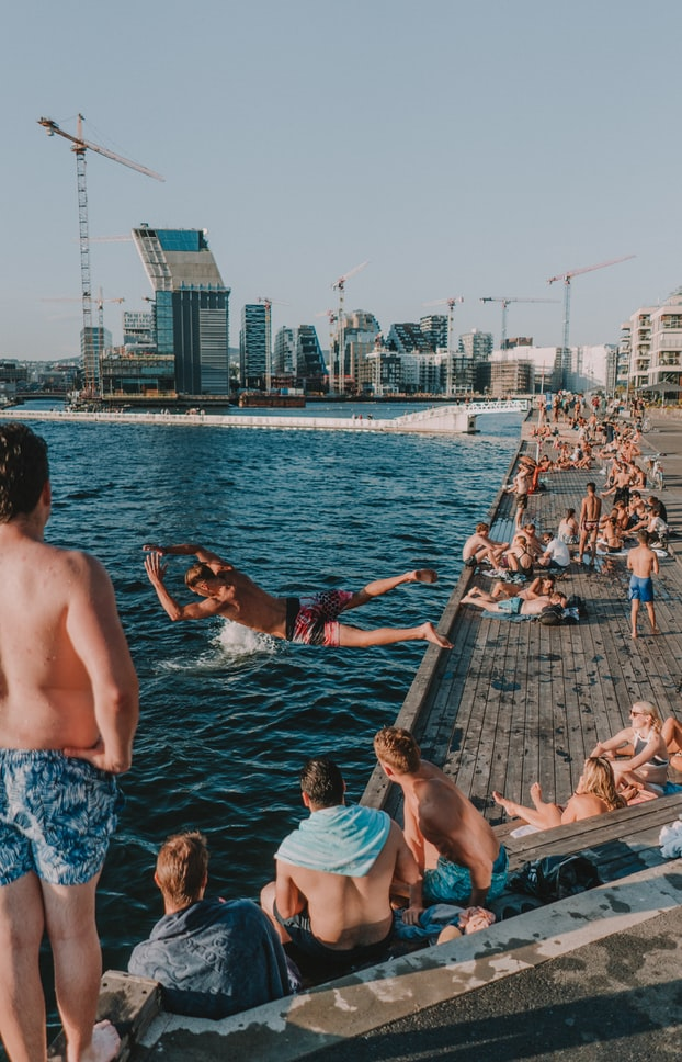 Urban sauna in Oslo