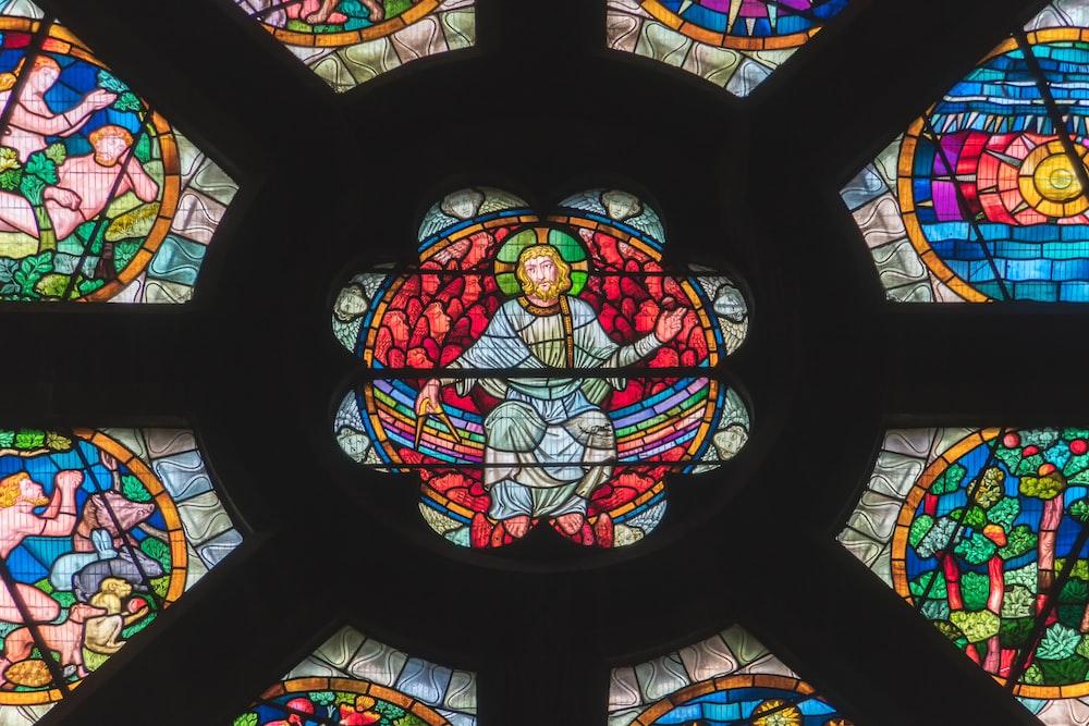 photography of Jesus Christ digital wallpaper]