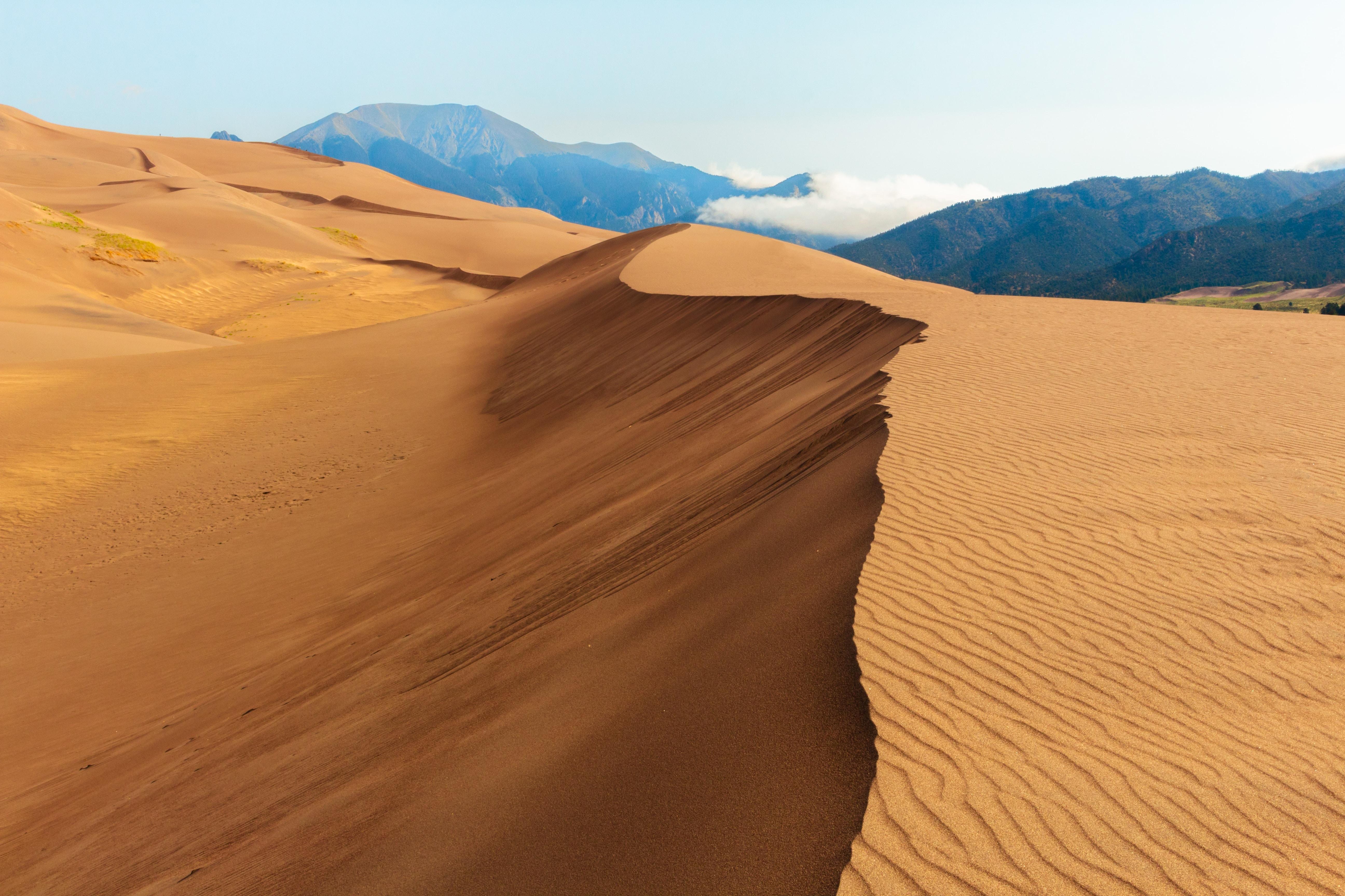 desert near mountain