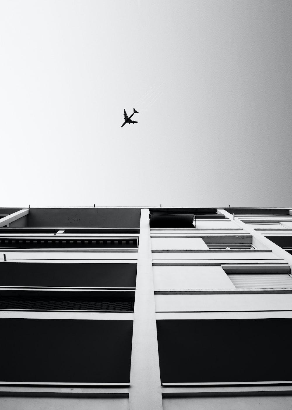 flying airplane during daytime