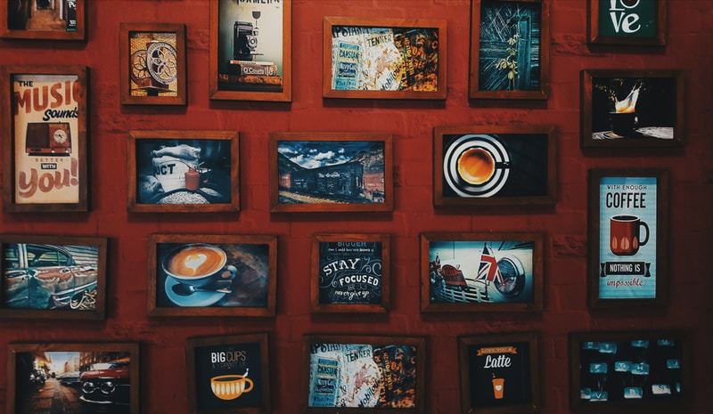 photo of assorted-paintings on wall