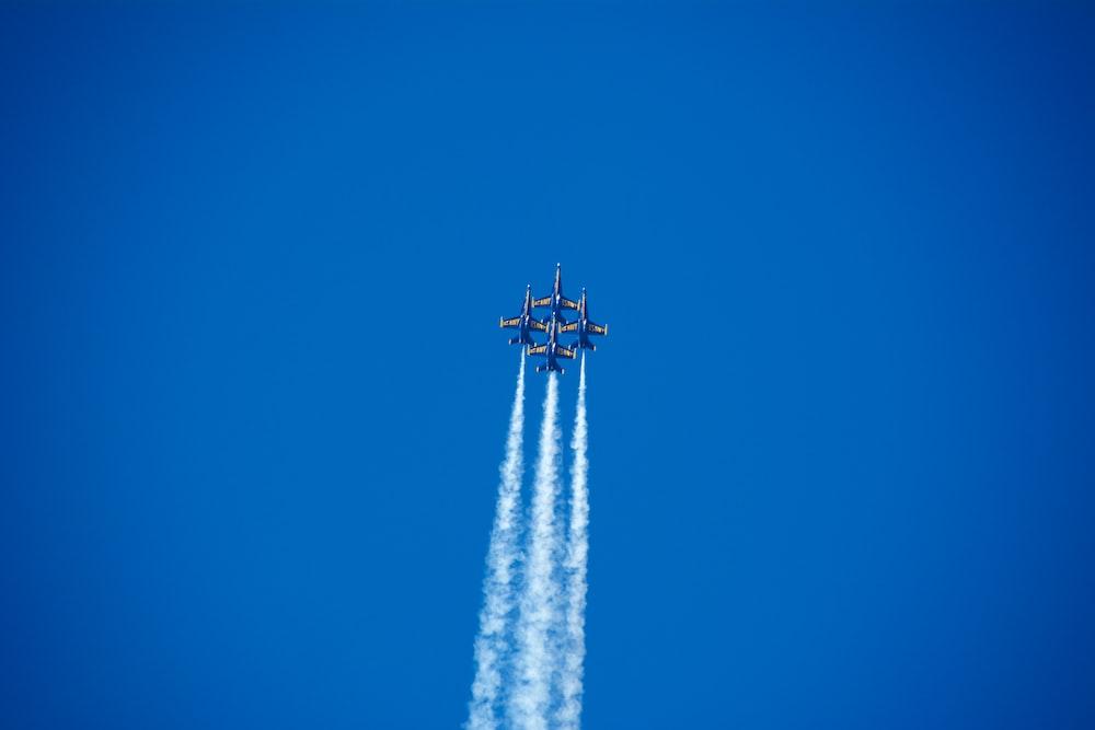 jet on sky
