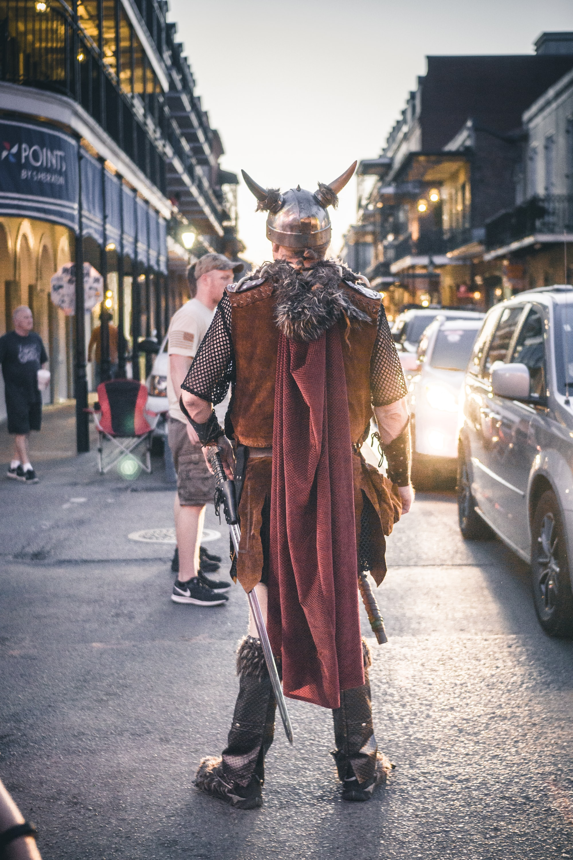 Found this viking in the streets of New Orleans.