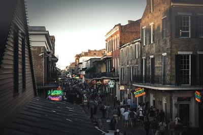 Bourbon street at it's best!