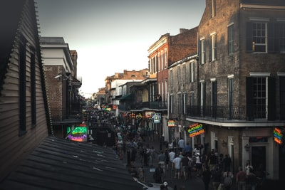 Bourbon street at it's best!