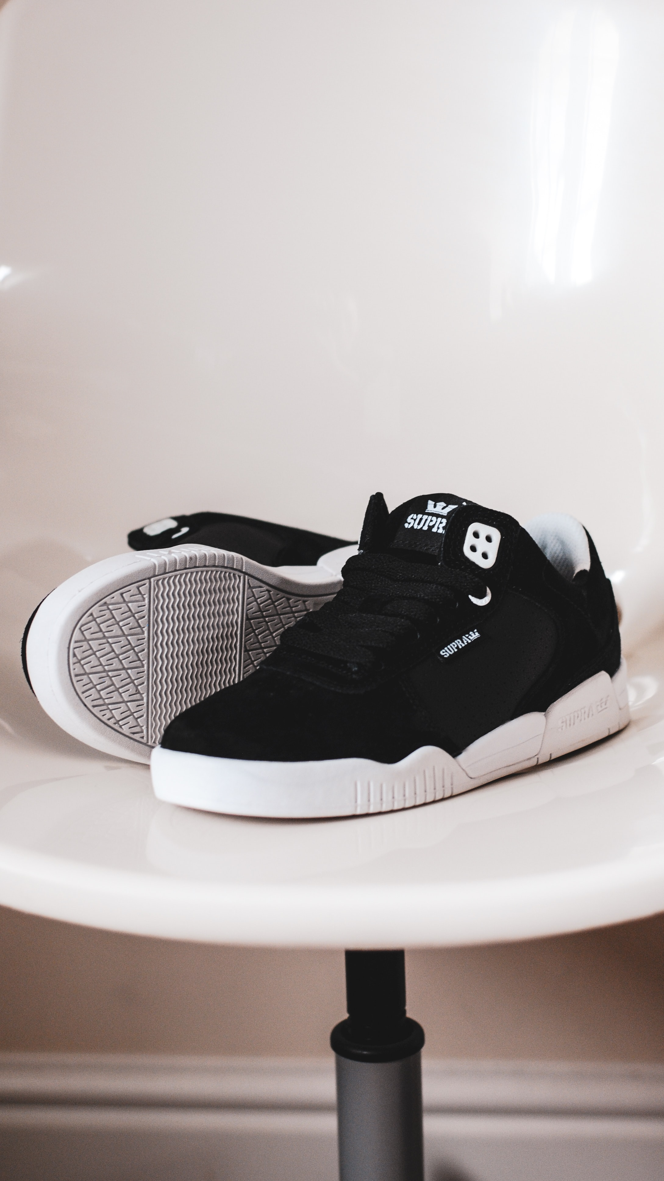 pair of black