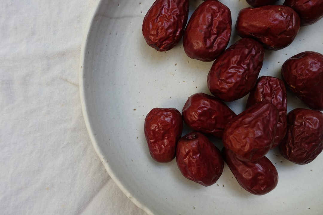 Jujubes (red dates) are often used in Traditional Chinese Medicine to heal and nurture