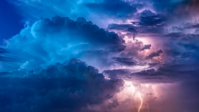 clouds with thunder digital wallpaper epic zoom background