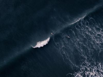 water waves emerald isle zoom background