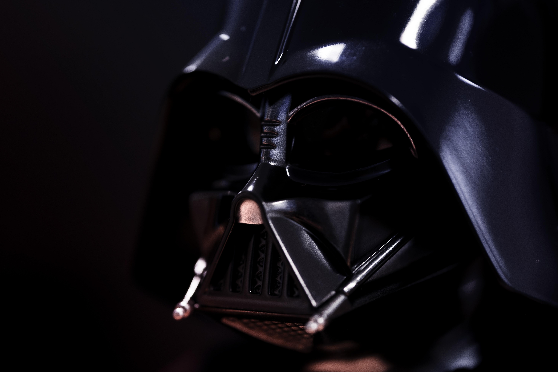 selective focus photography of Star Wars Darth Vader
