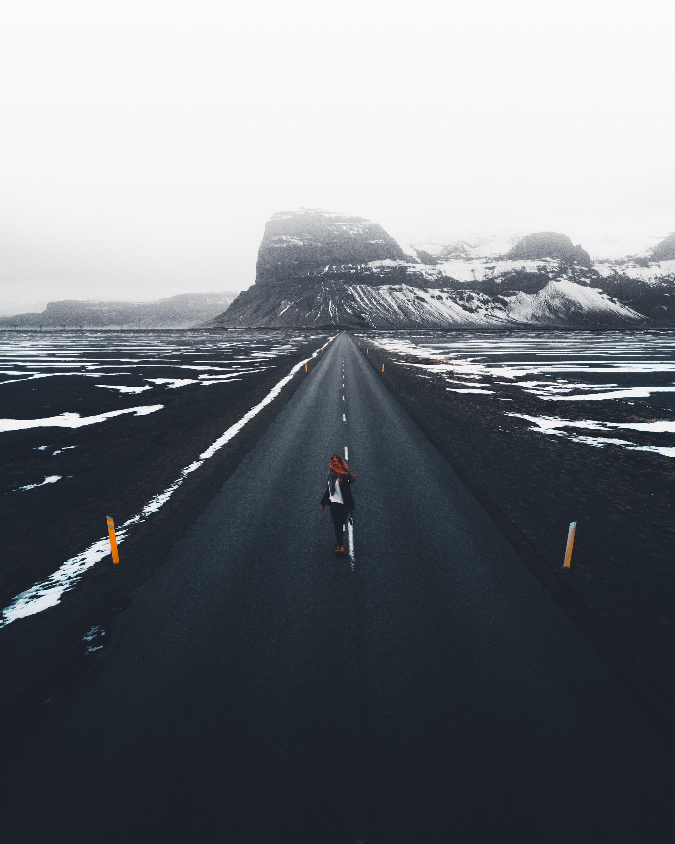 blacktop road