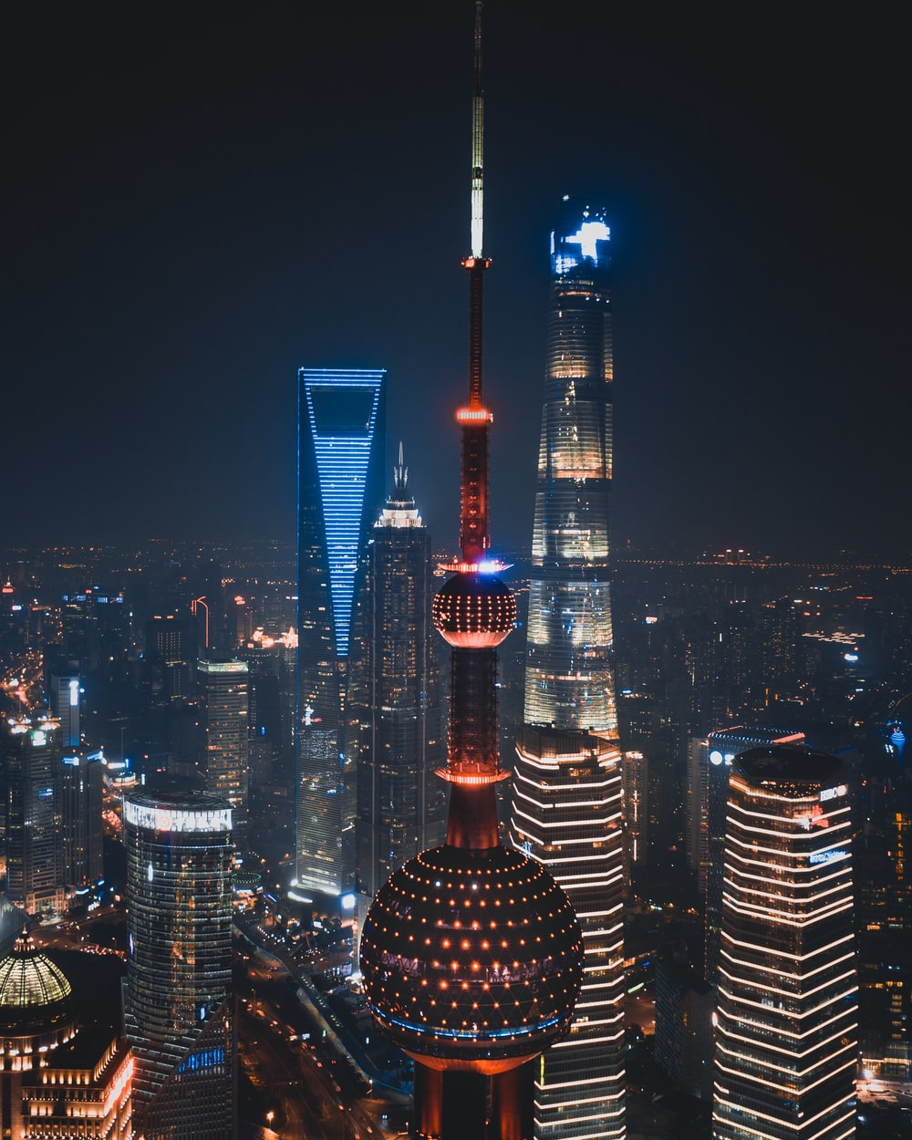 Oriental Pearl tower, China