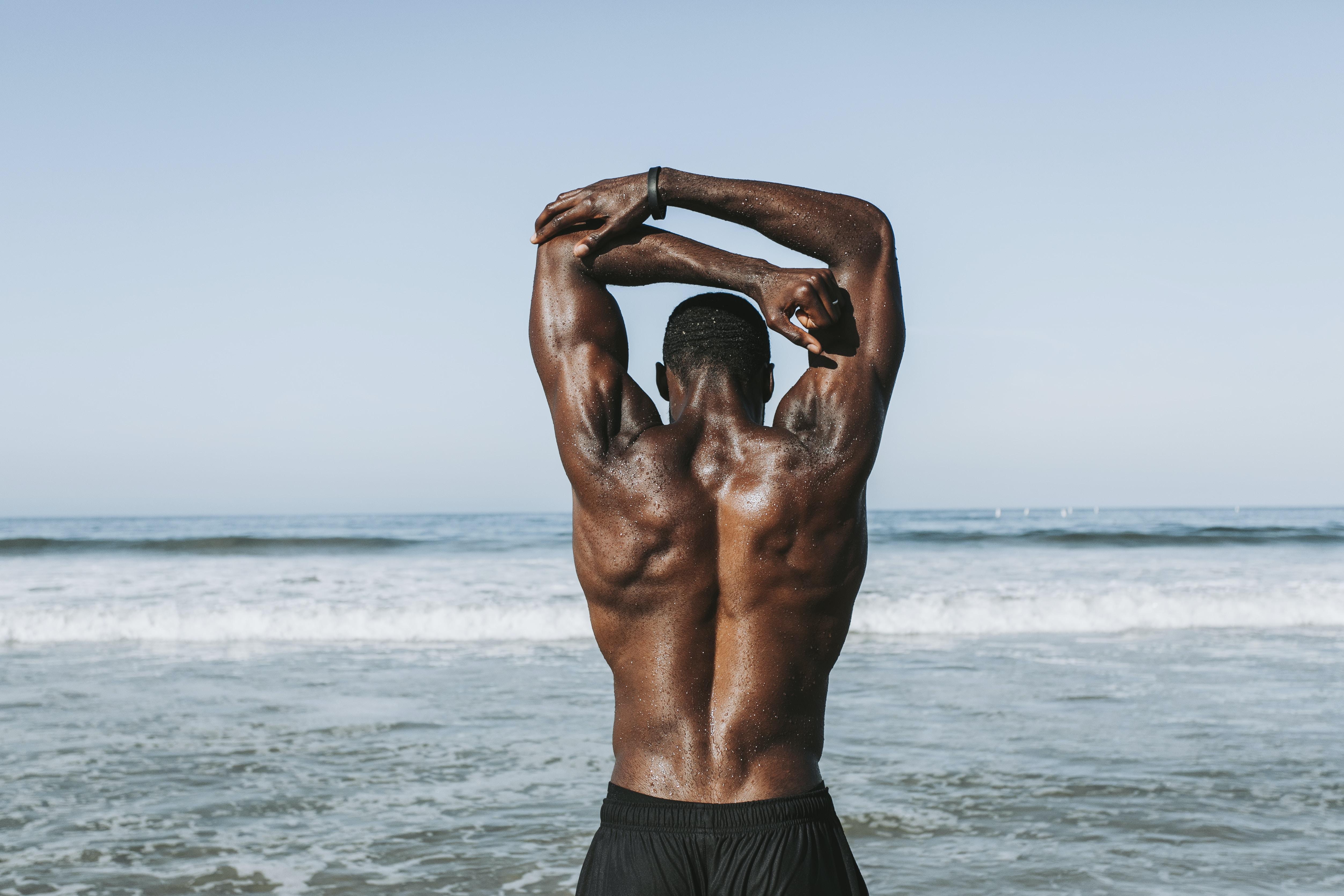 men's black bottoms