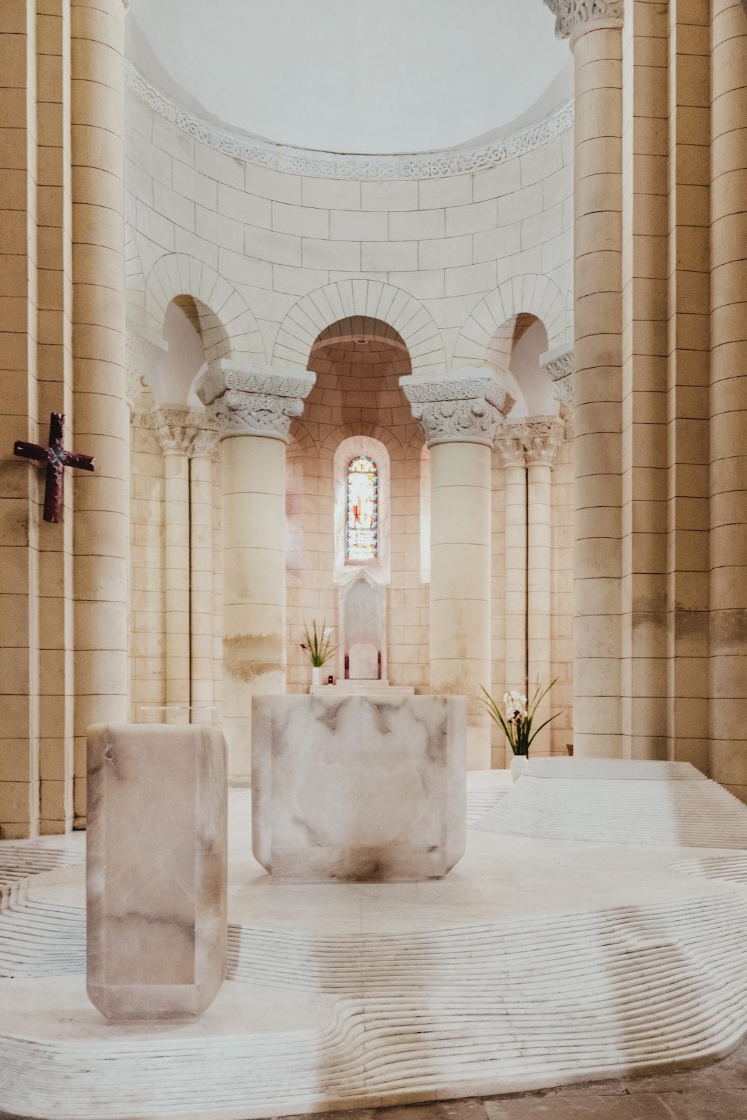Eglise Saint-Hilaire, Melle, France, UNESCO