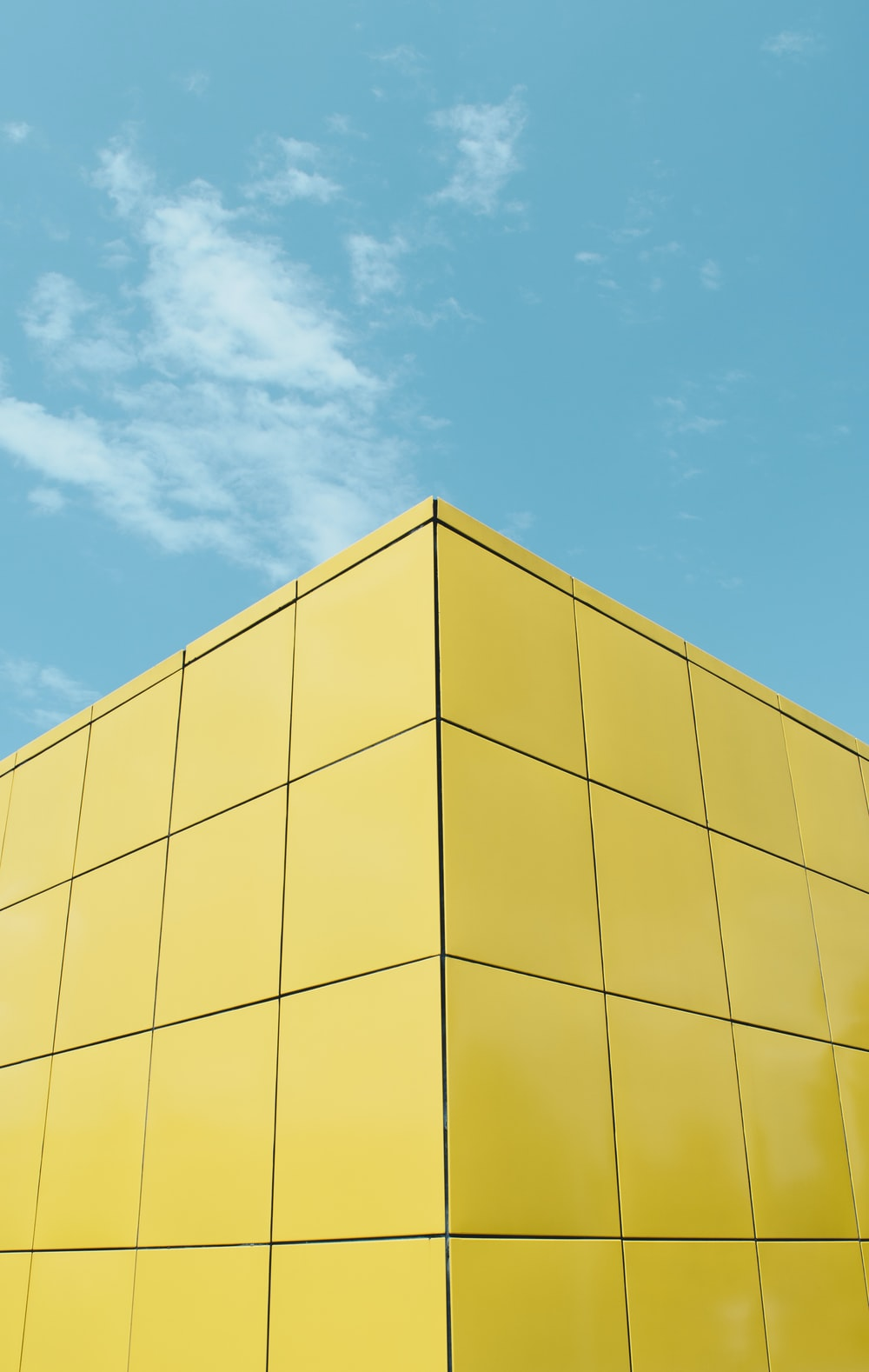 yellow building under blue sky during daytime