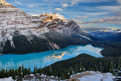 Peyto at sunrise