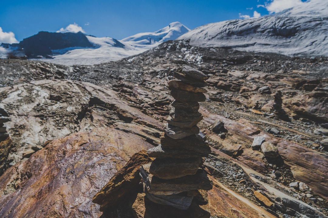 Glaciers and cairns