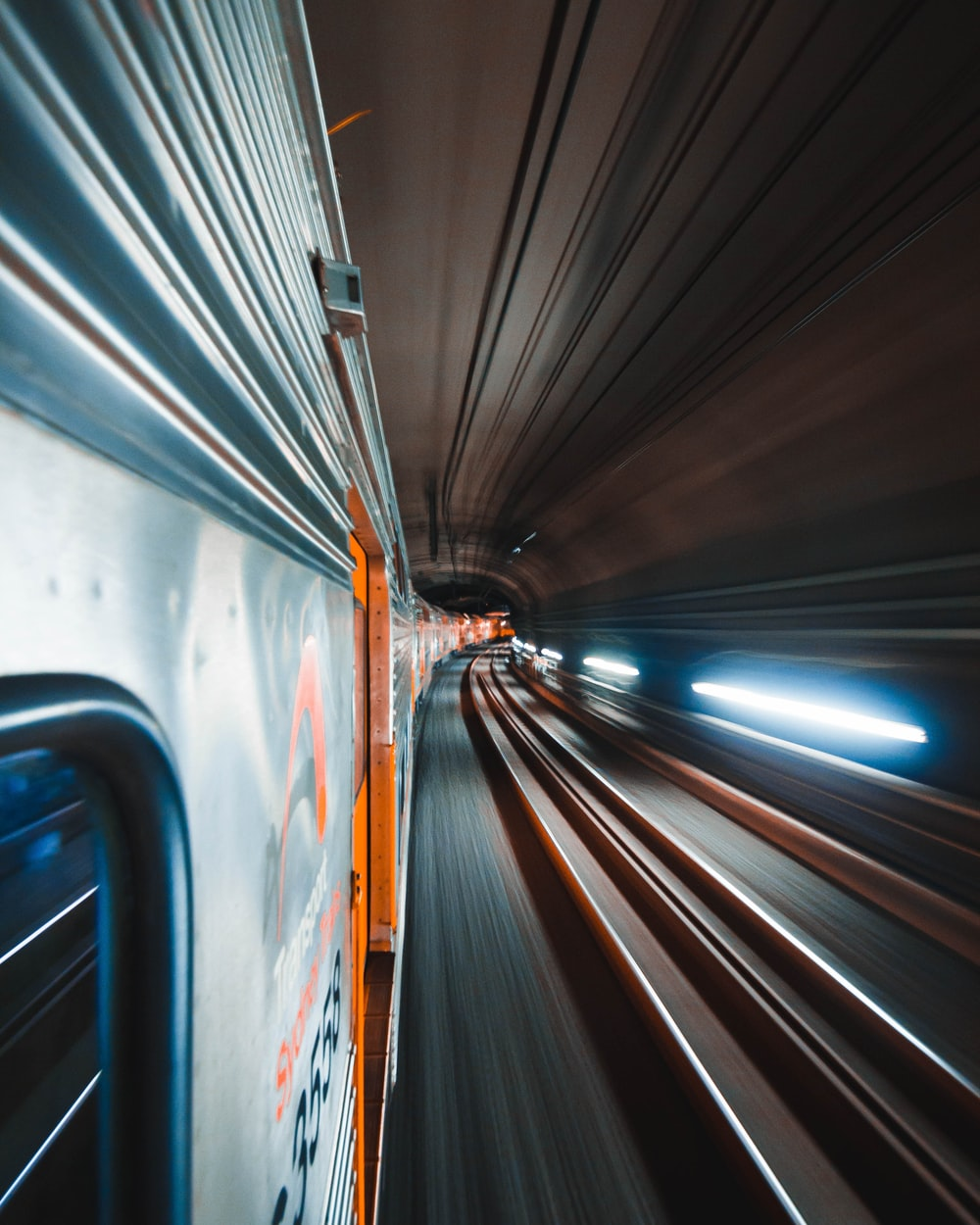 gray road in a tunnel