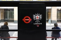While working for a week in London I walked by a bus stop