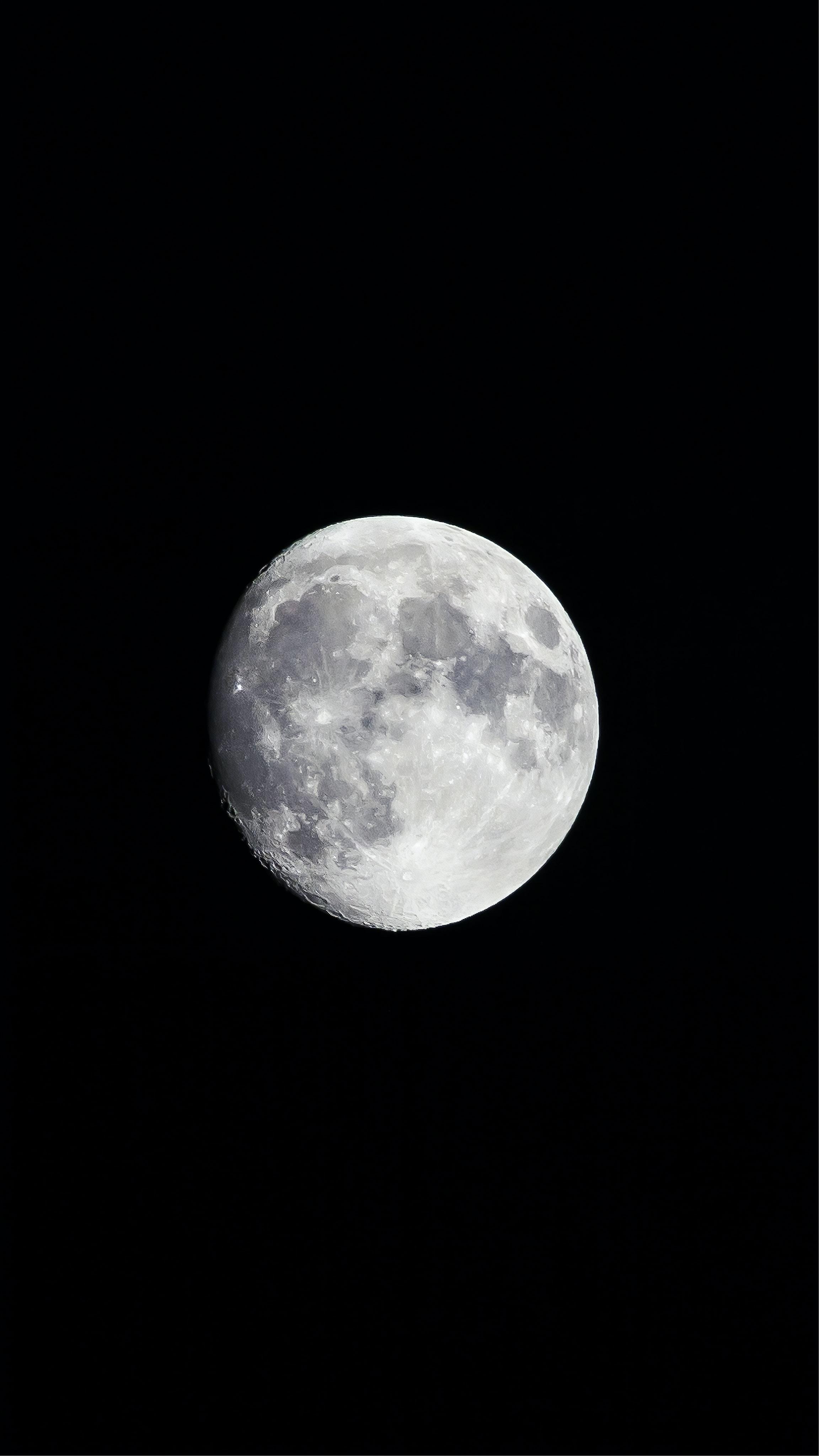 moon at nighttime
