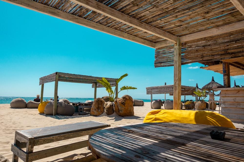 beach bar resort in Mauritius