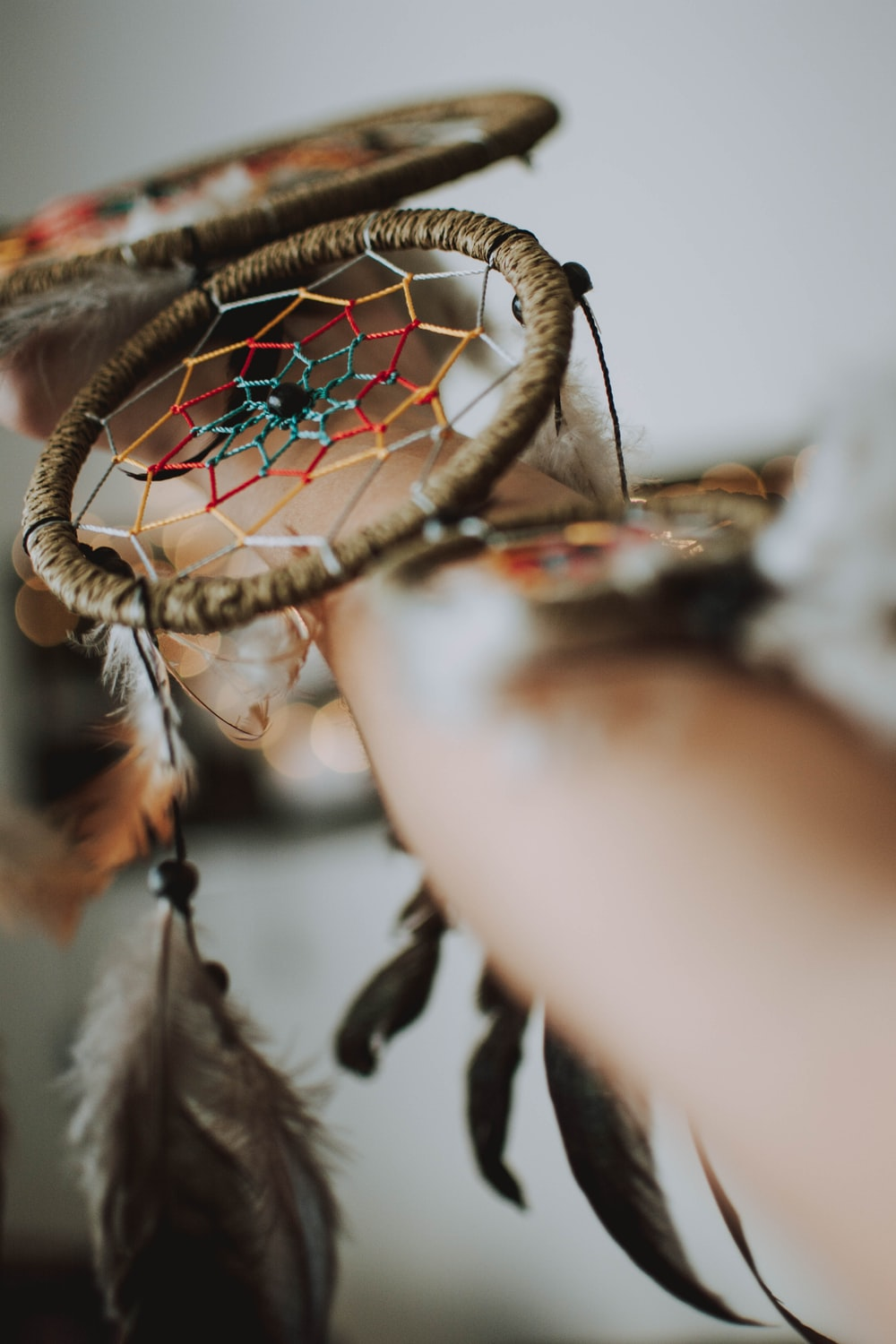 brown dream catcher