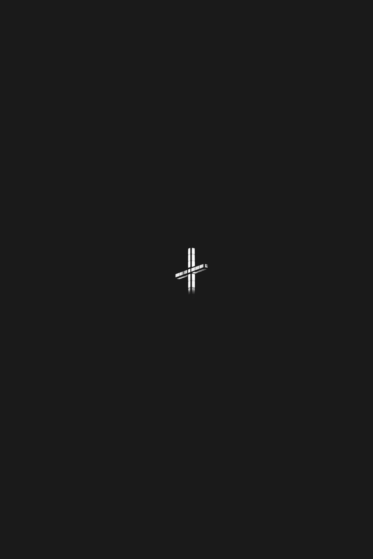 white cross photo