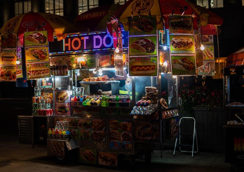 Hot Dog market station