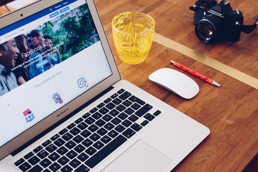 MacBook Air on table