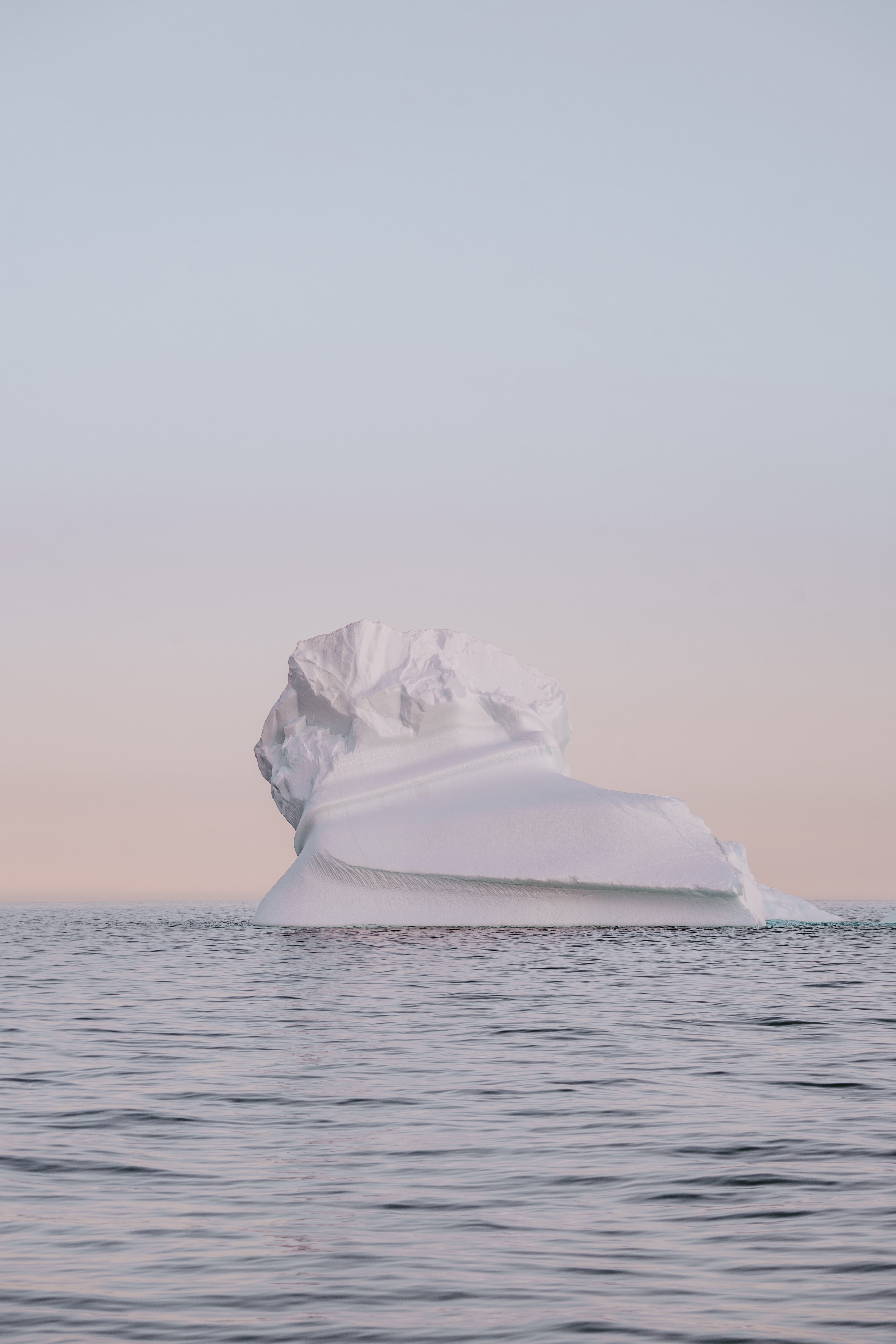 ice berg during daytime
