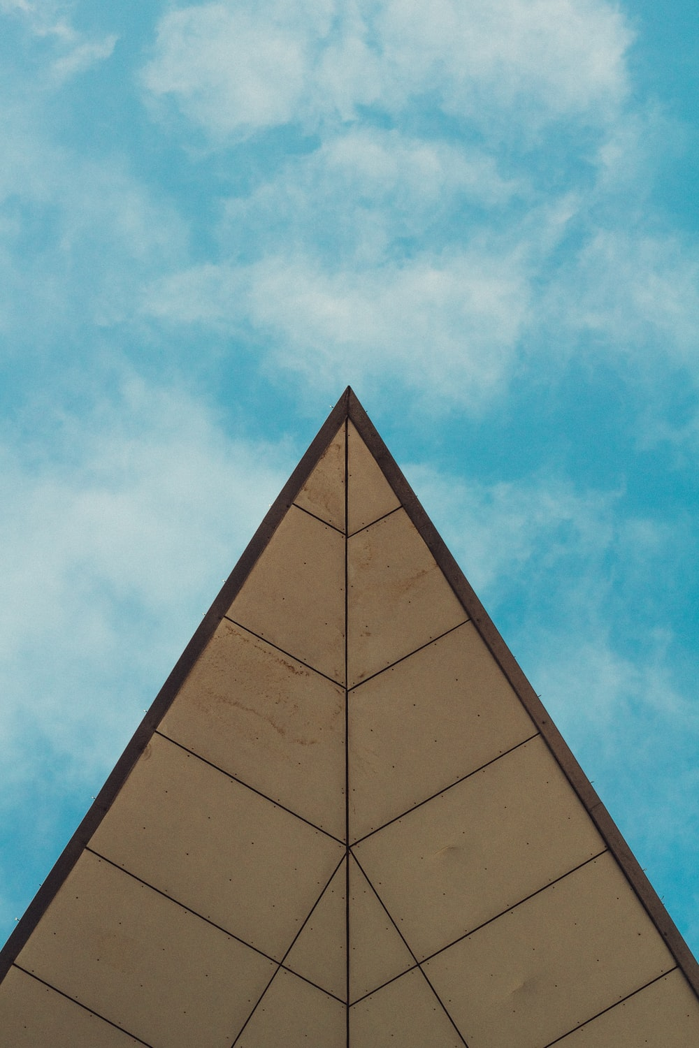 brown pyramid building