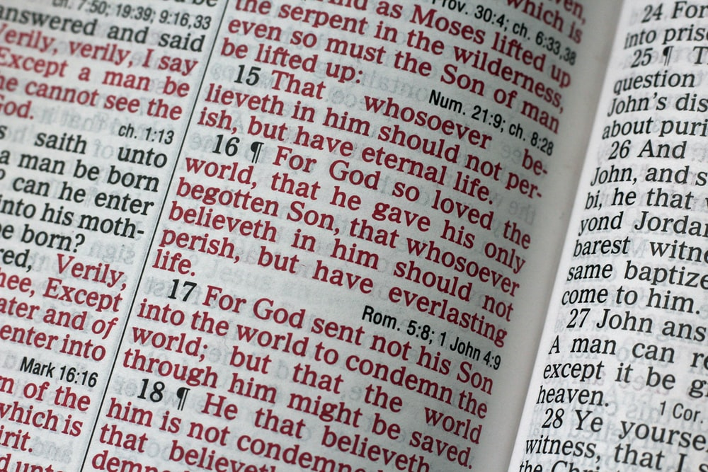 Bible verse photo