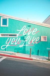 love you like mural