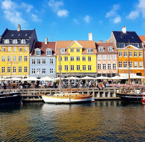 北欧デンマークの景色