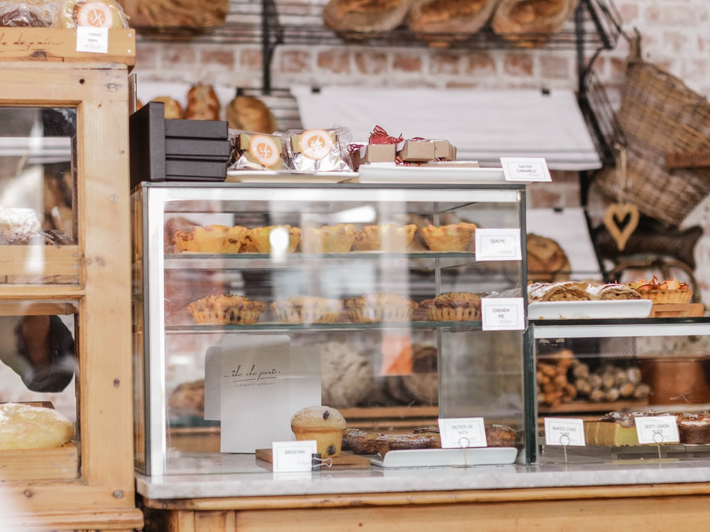 assorted pastry products