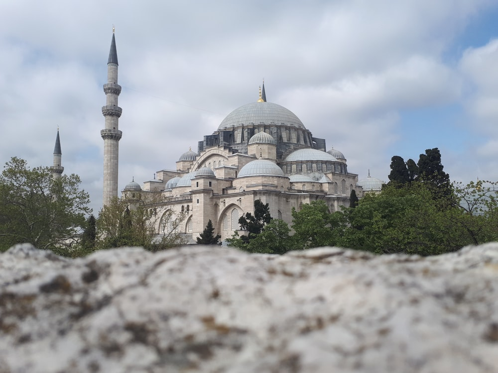 low angle photography of Blue Mosque, Turkey