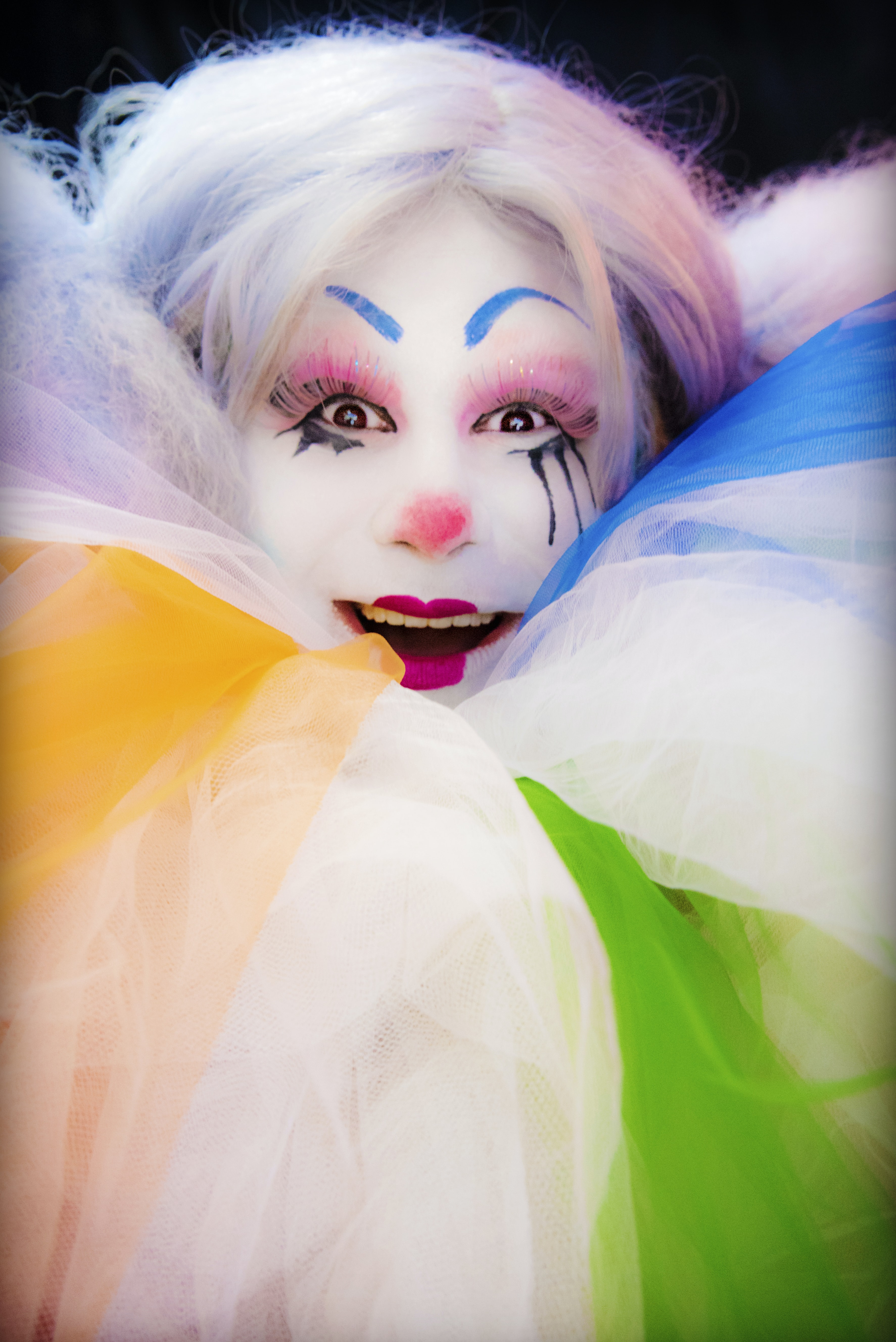 female jester character photo