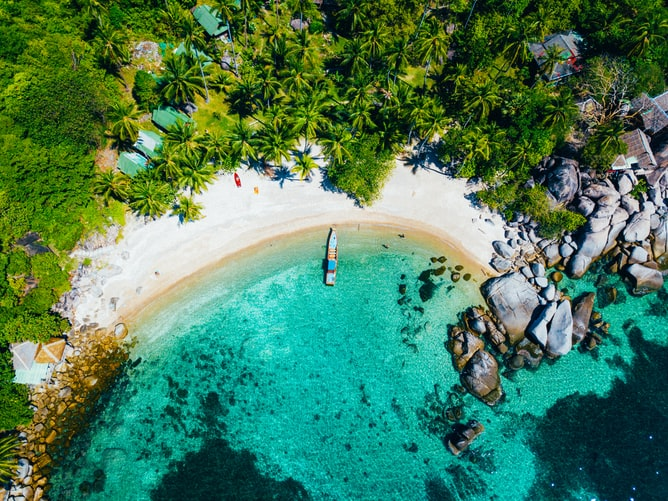Koh Pha Ngan, Places to visit in Thailand in July