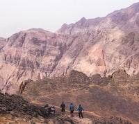 Trekking Down the Toubkal Mountain in Morocco