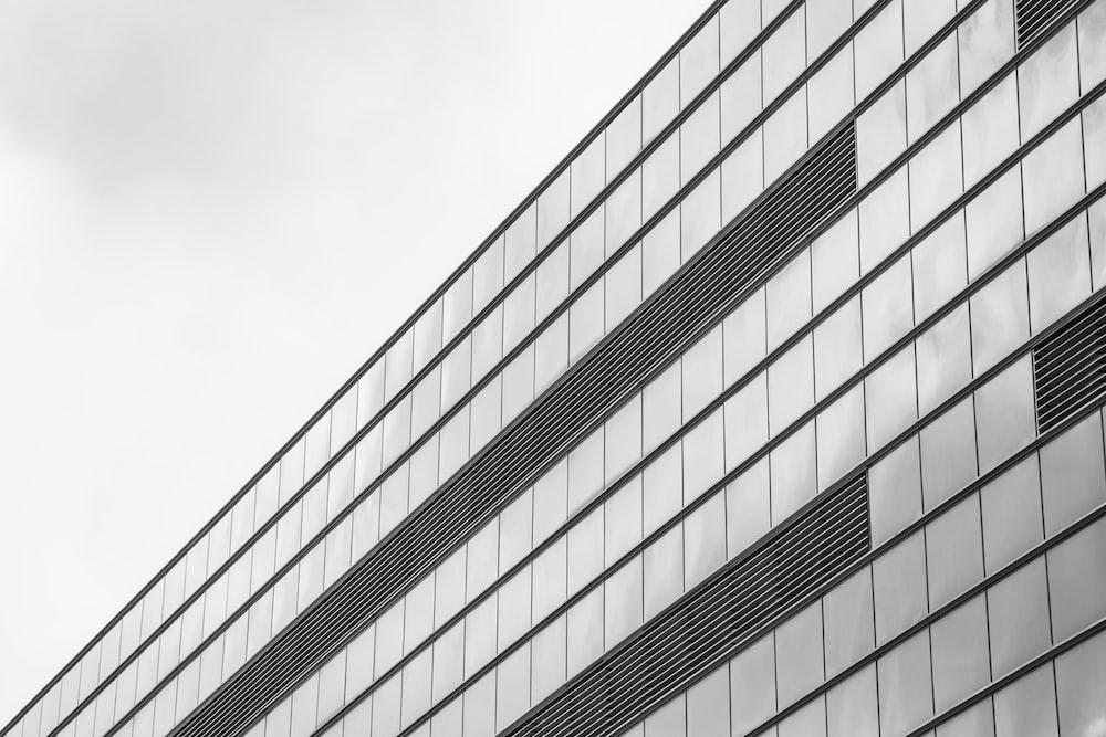 grey glass building