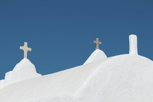 Churches at Mykonos