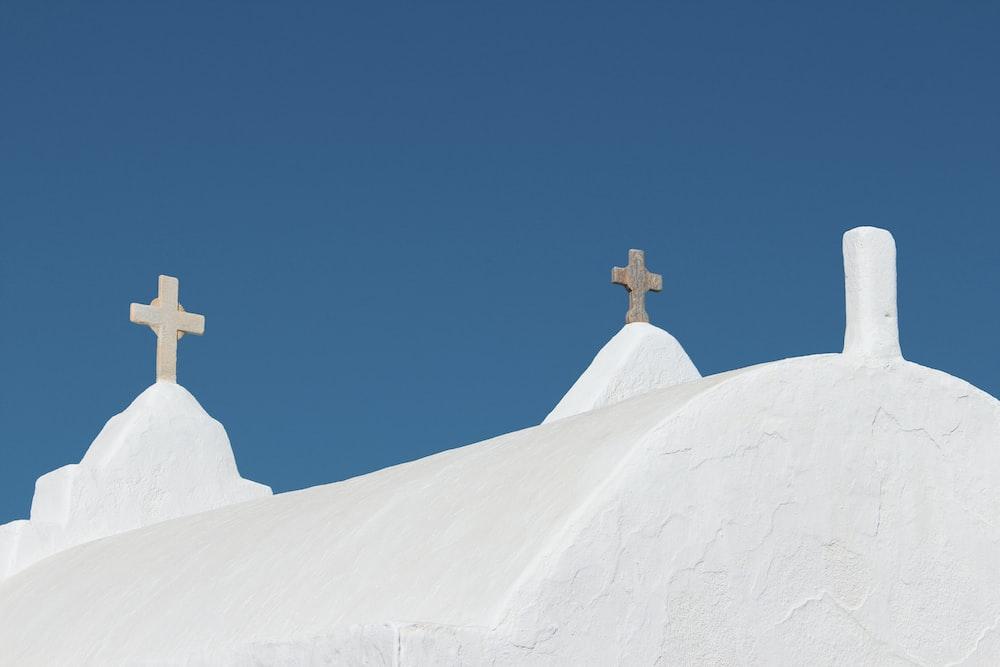 white concrete cathedral