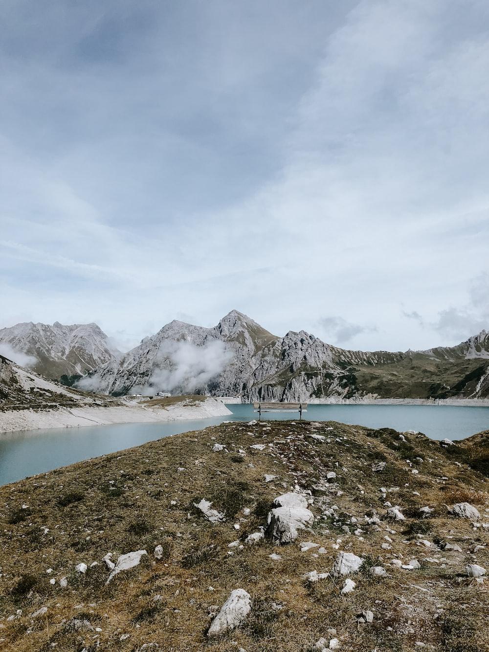 lake near mountains