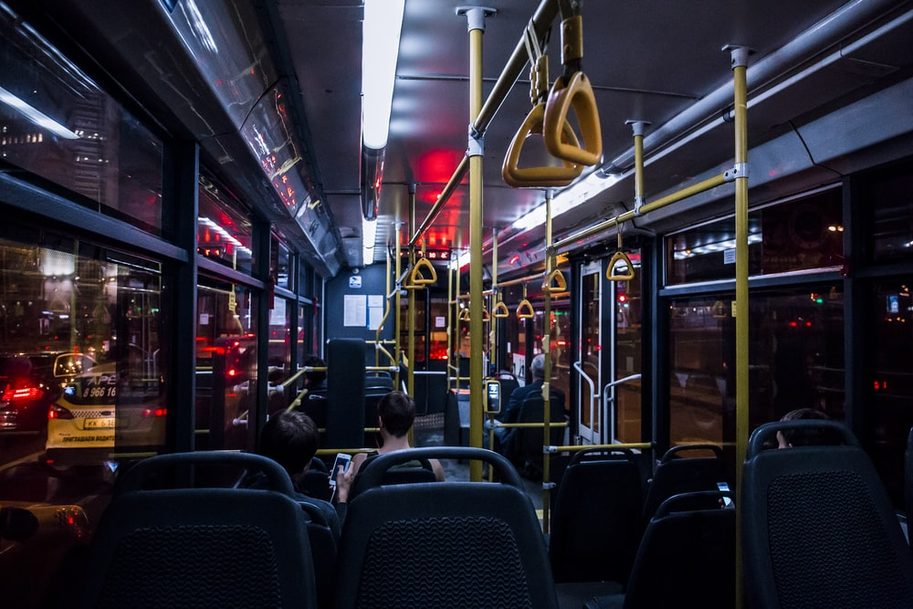 passenger bus interior