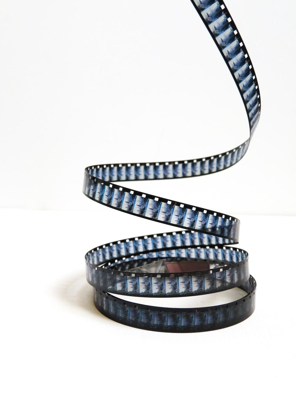 grey movie strip