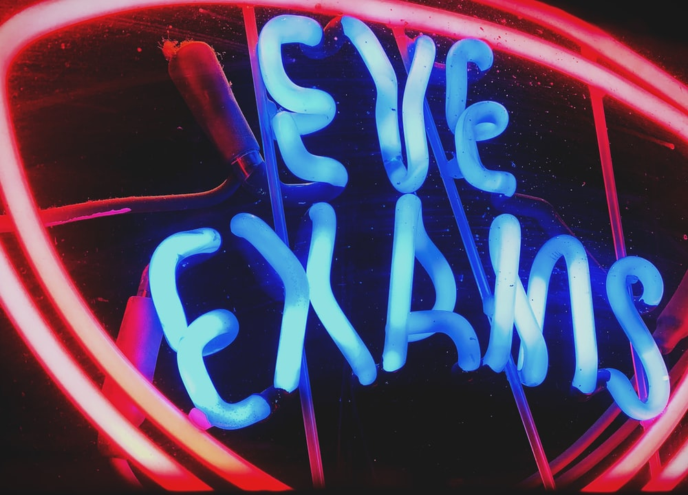 Eve Exams sign