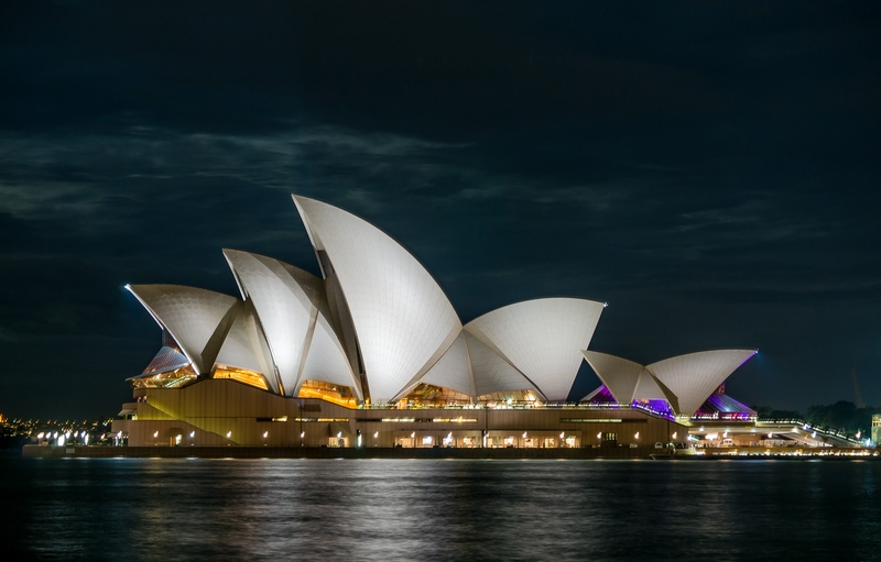 Attend a concert at the Sydney Opera House