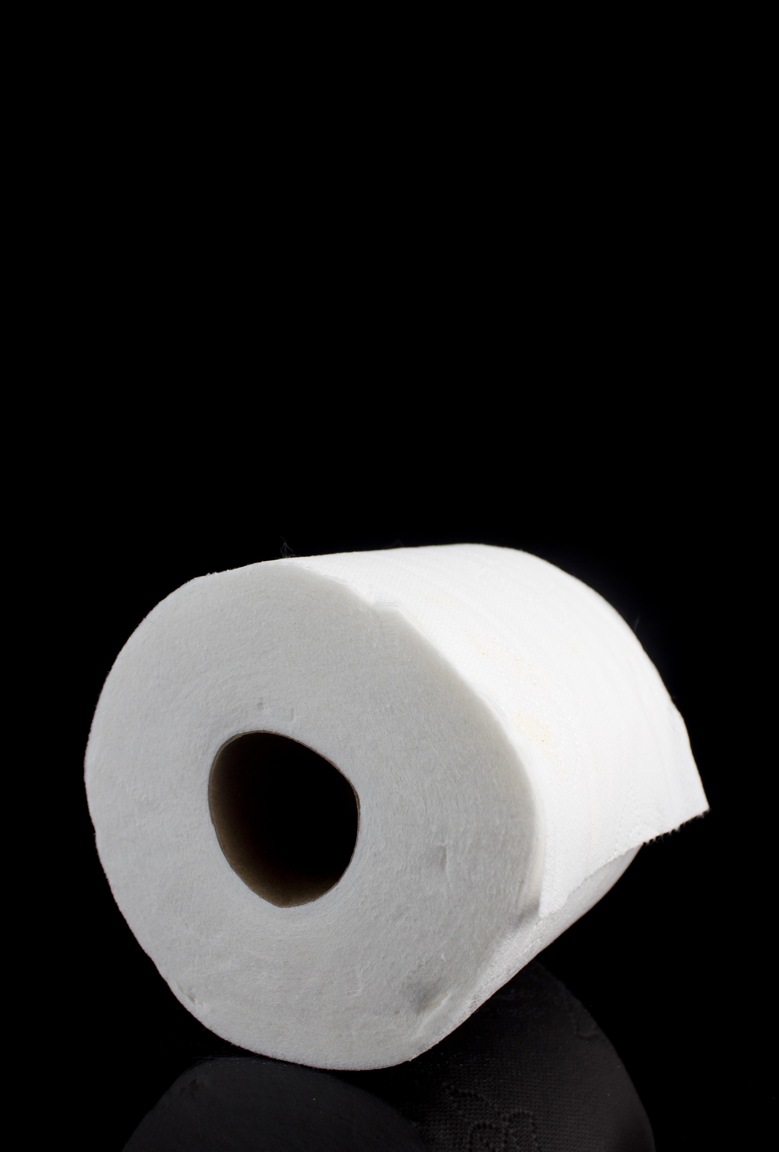 white tissue roll