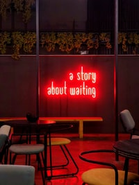 a story about waiting LED light